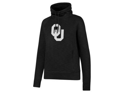 Oklahoma Sooners '47 NCAA Women's Forward Shade Funnel Neck Hoodie