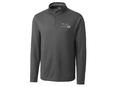 Super Bowl LI Cutter & Buck NFL Men's Super Bowl LI Dueling Topspin 1/4 Zip Pullover