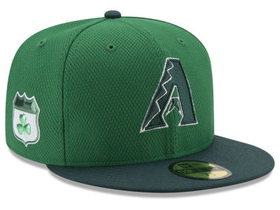 Arizona Diamondbacks New Era 2017 MLB On-Field St. Patrick's Day 59FIFTY Cap