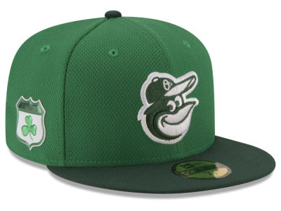 Baltimore Orioles New Era 2017 MLB On-Field St. Patrick's Day 59FIFTY Cap