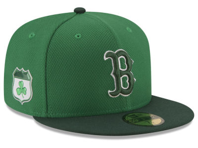 Boston Red Sox New Era 2017 MLB On-Field St. Patrick's Day 59FIFTY Cap