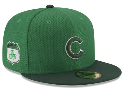 Chicago Cubs New Era 2017 MLB On-Field St. Patrick's Day 59FIFTY Cap