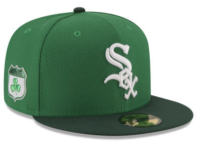 Chicago White Sox New Era 2017 MLB On-Field St. Patrick's Day 59FIFTY Cap