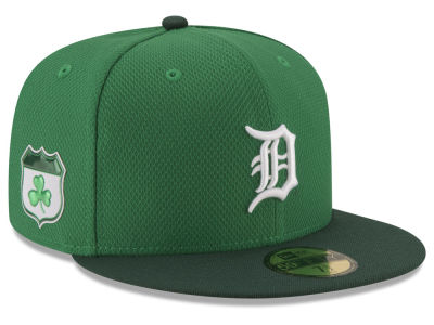 Detroit Tigers New Era 2017 MLB On-Field St. Patrick's Day 59FIFTY Cap
