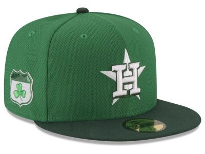Houston Astros New Era 2017 MLB On-Field St. Patrick's Day 59FIFTY Cap