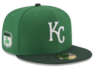 Kansas City Royals New Era 2017 MLB On-Field St. Patrick's Day 59FIFTY Cap
