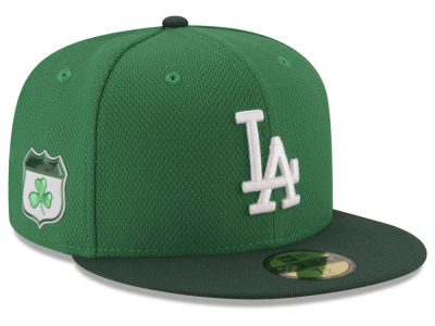 Los Angeles Dodgers New Era 2017 MLB On-Field St. Patrick's Day 59FIFTY Cap
