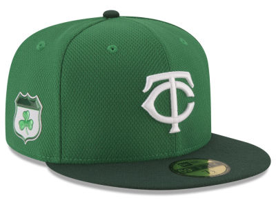 Minnesota Twins New Era 2017 MLB St. Pattys Diamond Era 59FIFTY Cap