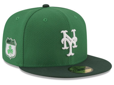 New York Mets New Era 2017 MLB On-Field St. Patrick's Day 59FIFTY Cap