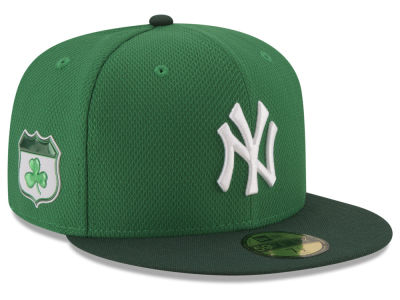 New York Yankees New Era 2017 MLB On-Field St. Patrick's Day 59FIFTY Cap