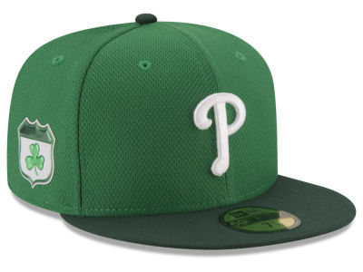 Philadelphia Phillies New Era 2017 MLB On-Field St. Patrick's Day 59FIFTY Cap
