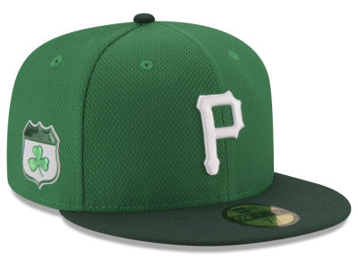 Pittsburgh Pirates New Era 2017 MLB On-Field St. Patrick's Day 59FIFTY Cap