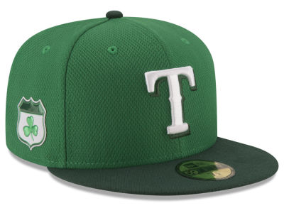 Texas Rangers New Era 2017 MLB St. Pattys Diamond Era 59FIFTY Cap