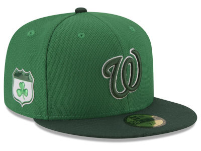 Washington Nationals New Era 2017 MLB On-Field St. Patrick's Day 59FIFTY Cap