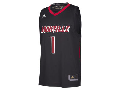 Louisville Cardinals adidas NCAA Men's March Madness Replica Alt Jersey