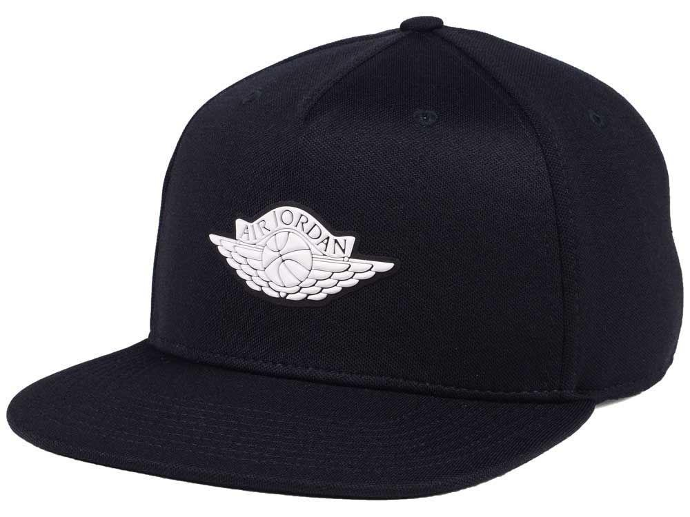 Jordan Wings Strapback Cap  ccd9db92528