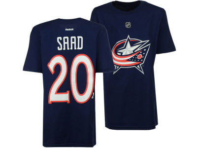 Columbus Blue Jackets Brandon Saad Reebok NHL Youth Player T-Shirt