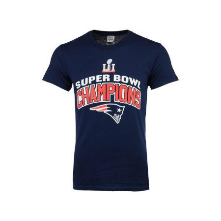 New England Patriots Majestic NFL Men's Super Bowl LI Champ Roster SMU T-Shirt