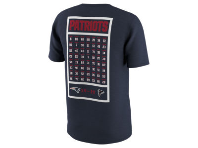 New England Patriots Nike NFL Men's Super Bowl LI Champ Roster T-Shirt