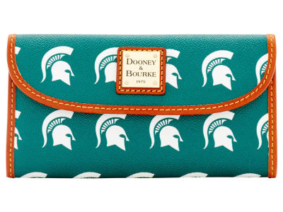 Michigan State Spartans Dooney & Bourke Continental Clutch