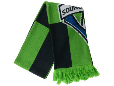 Seattle Sounders FC MLS Jacquard Checker Scarf