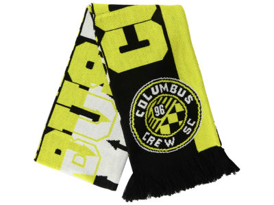 Columbus Crew SC adidas MLS Jacquard All Over Scarf