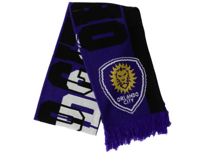 Orlando City SC adidas MLS Jacquard All Over Scarf