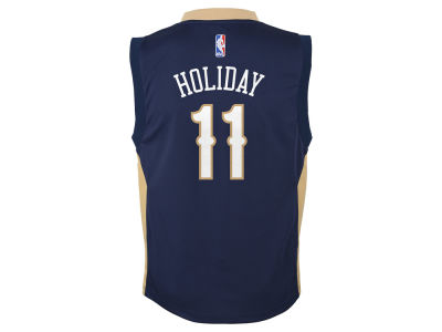 New Orleans Pelicans Jrue Holiday adidas NBA Youth Swingman Jersey