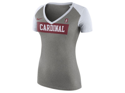 Stanford Cardinal Nike NCAA Women's Tailgate Football T-Shirt
