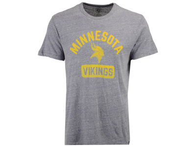 Minnesota Vikings '47 NFL Men's Gym Issued Retro Tri-blend T-shirt