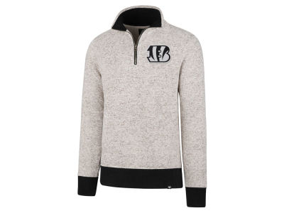 Cincinnati Bengals '47 NFL Men's Kodiak Quarter Zip Pullover