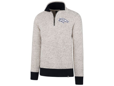 Denver Broncos '47 NFL Men's Kodiak Quarter Zip Pullover