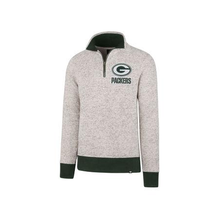 Green Bay Packers '47 NFL Men's Kodiak Quarter Zip Pullover