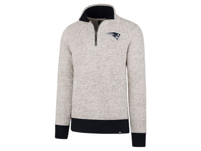 New England Patriots '47 NFL Men's Kodiak Quarter Zip Pullover
