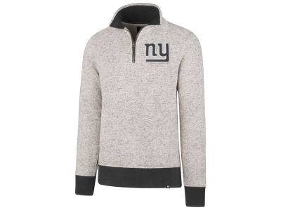 New York Giants '47 NFL Men's Kodiak Quarter Zip Pullover