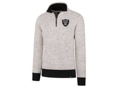 Oakland Raiders '47 NFL Men's Kodiak Quarter Zip Pullover