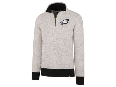 Philadelphia Eagles '47 NFL Men's Kodiak Quarter Zip Pullover