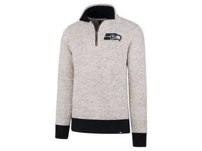 Seattle Seahawks '47 NFL Men's Kodiak Quarter Zip Pullover