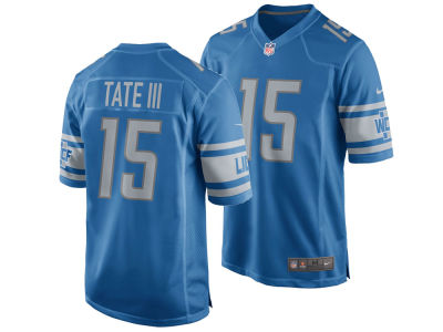 Detroit Lions Golden Tate Nike NFL Men's Game Jersey