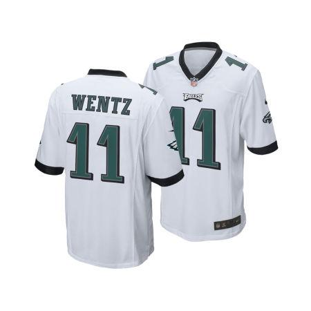 Philadelphia Eagles Carson Wentz Nike NFL Men's Game Jersey