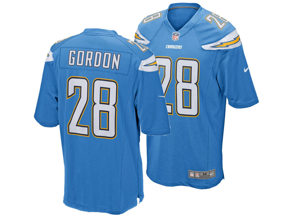 d2d1d53d752 Los Angeles Chargers Melvin Gordon Nike NFL Men's Game Jersey | lids.com