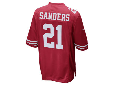 San Francisco 49ers Deion Sanders Nike NFL Retired Game Jersey