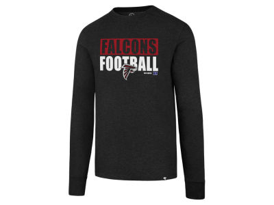 Atlanta Falcons '47 NFL Men's Stacked Box Long Sleeve T-Shirt