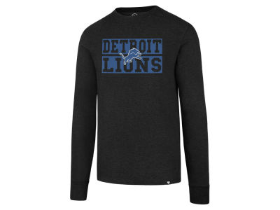 Detroit Lions '47 NFL Men's Stacked Box Long Sleeve T-Shirt