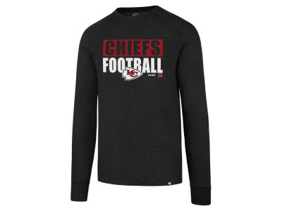 Kansas City Chiefs '47 NFL Men's Stacked Box Long Sleeve T-Shirt