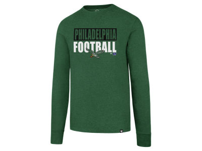 Philadelphia Eagles '47 NFL Men's Stacked Box Long Sleeve T-Shirt