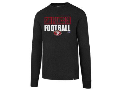 San Francisco 49ers '47 NFL Men's Stacked Box Long Sleeve T-Shirt