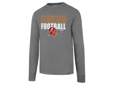 Tampa Bay Buccaneers '47 NFL Men's Stacked Box Long Sleeve T-Shirt