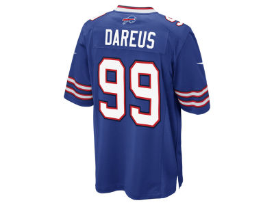 Buffalo Bills Marcell Dareus Nike NFL Men's Game Jersey