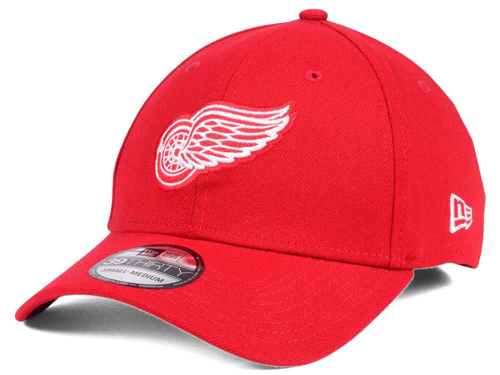 Detroit Red Wings New Era NHL Team Classic 39THIRTY Cap  33c1e98fab12